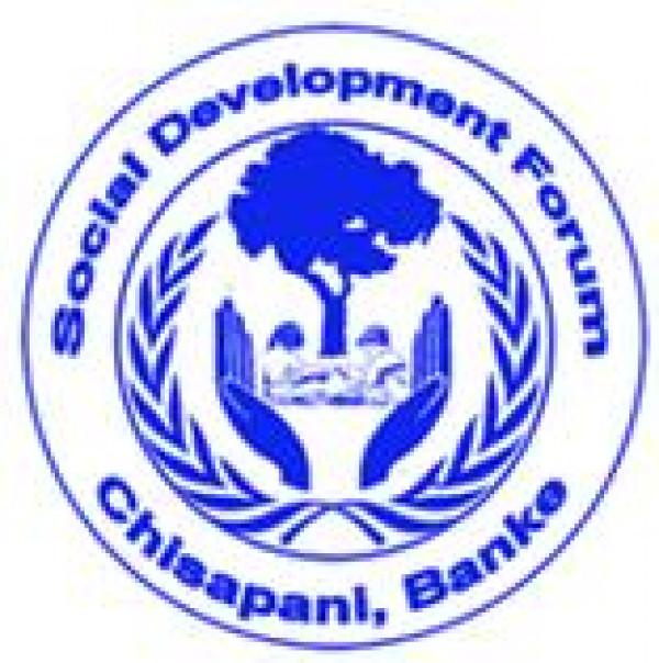 Job Vacancy for Social Development Forum (SDF) Nepal